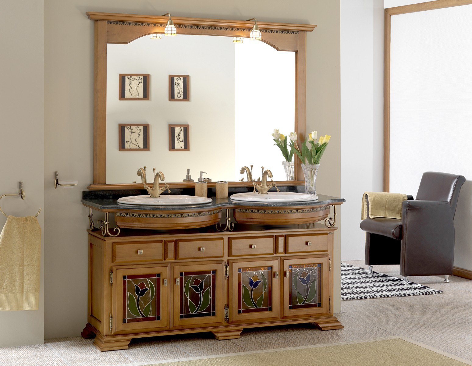 Mueble De Ba O Ruben Doble Muebles La Ilusi N # Muebles Doble Fondo
