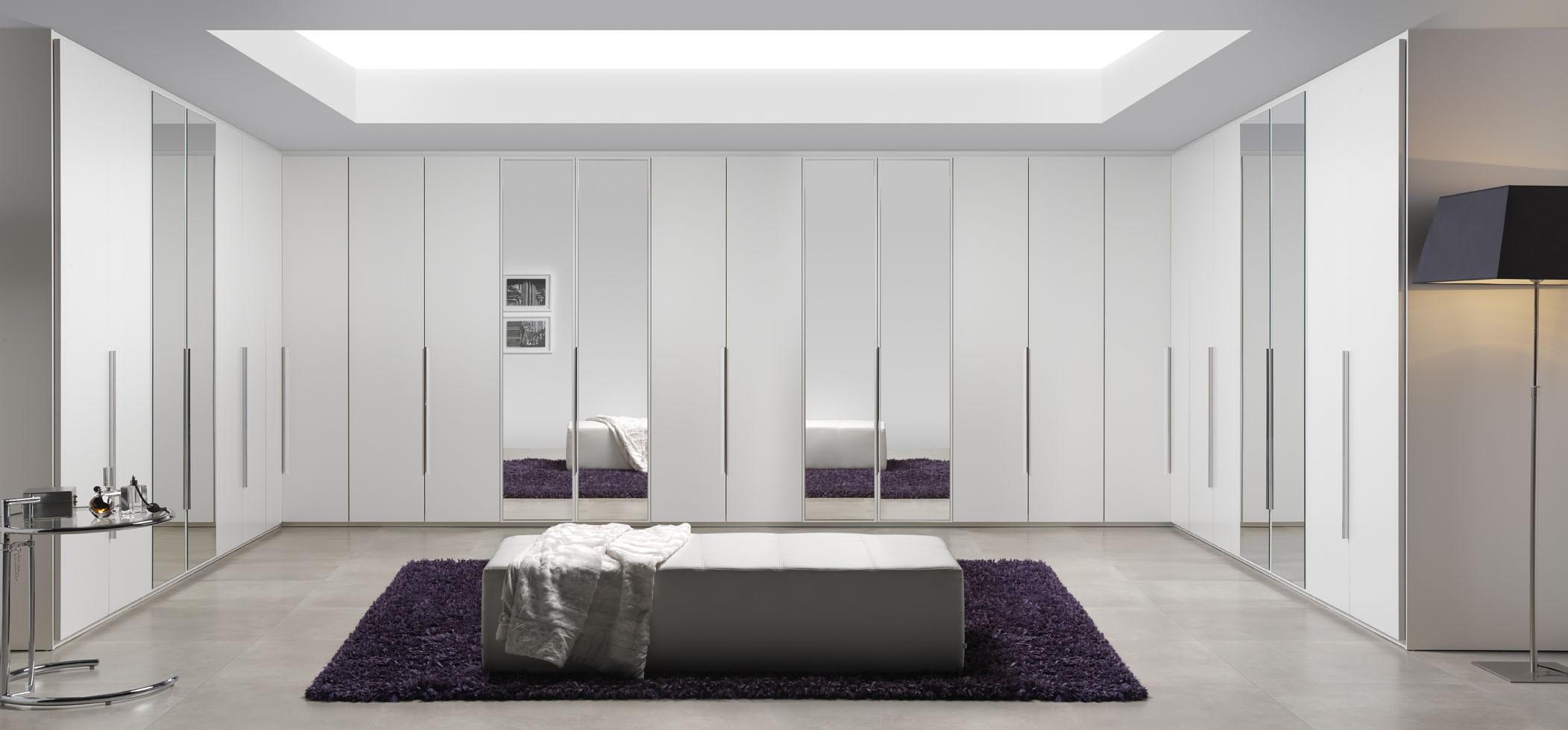 Vestidor con puertas muebles la ilusi n for Espejo a medida precio