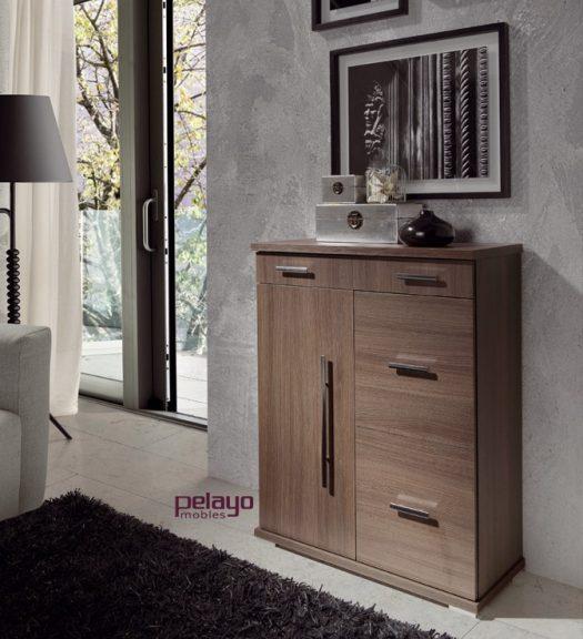 Muebles zapateros muebles la ilusi n for Zapateros colgados pared