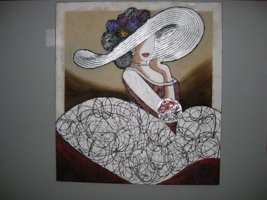 Cuadro Mujer.