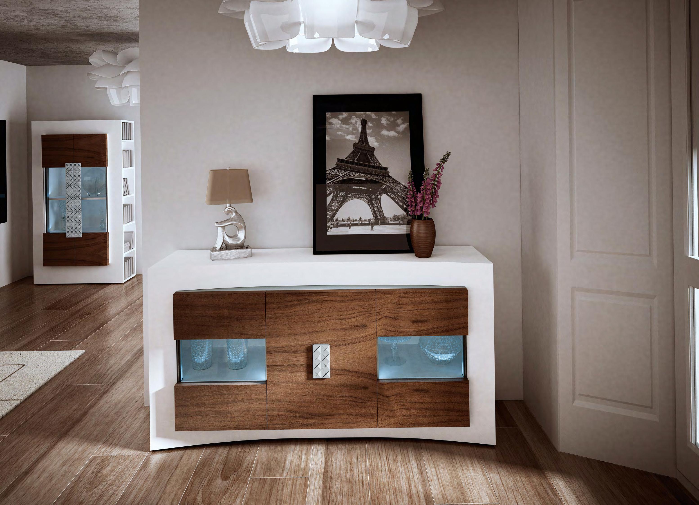 Aparador N 1 Curve Muebles La Ilusi N # Muebles Murales
