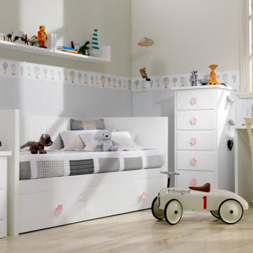 Muebles de la serie infantil